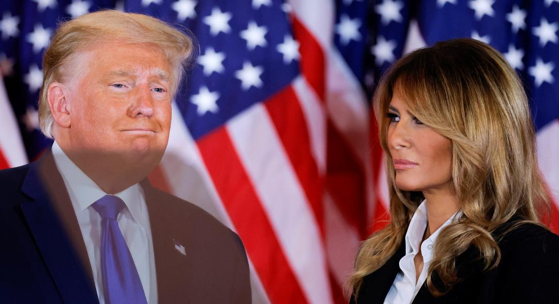 Супруги Трамп записали прощальные видеообращения к американцам