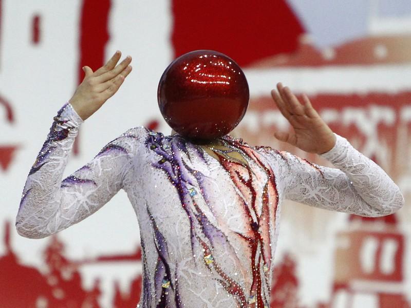 Линой Ашрам – чемпионка Европы по художественной гимнастике