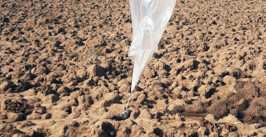 """То ракеты, то """"баллоны"""": из Газы прилетел воздушный шар со взрывчаткой"""