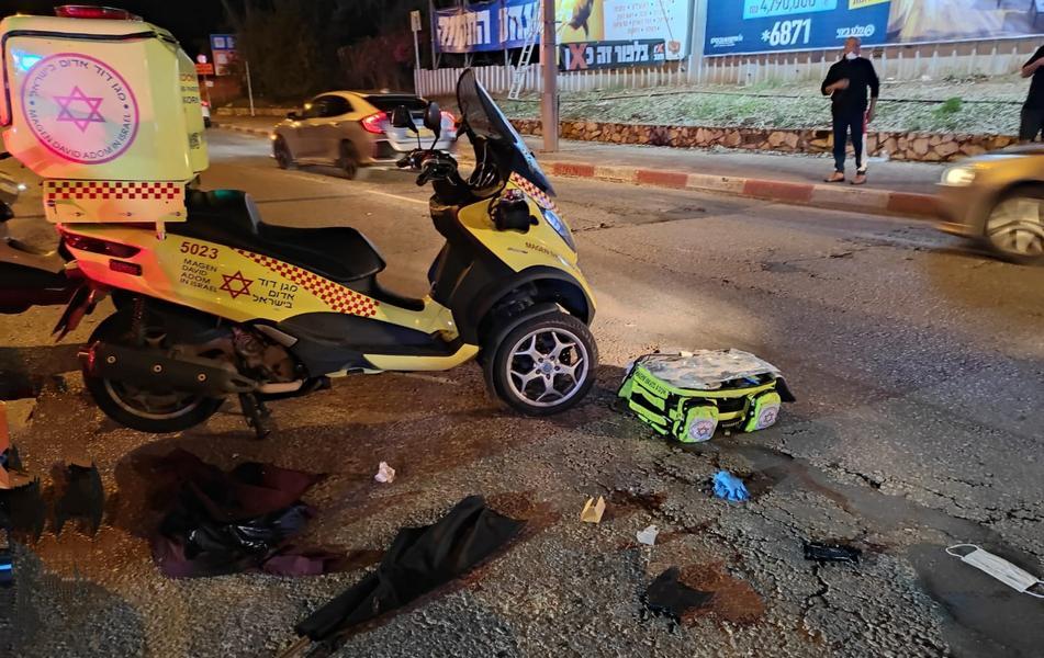 Кирьят-Оно: 80-летний левый демонстрант погиб под колесами автомобиля