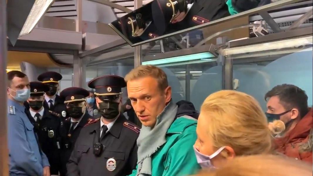 В ООН призвали незамедлительно освободить Навального