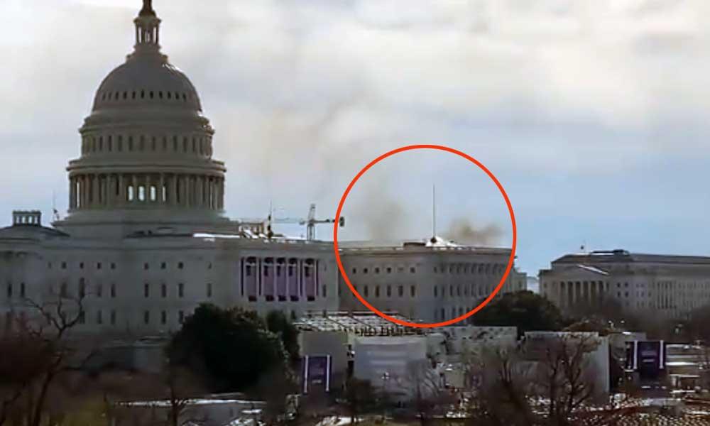 В Вашингтоне эвакуируют Капитолий из-за угрозы теракта