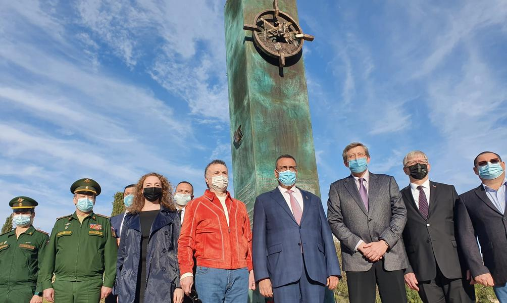 В Иерусалиме возложили венок к монументу памяти ленинградских блокадников