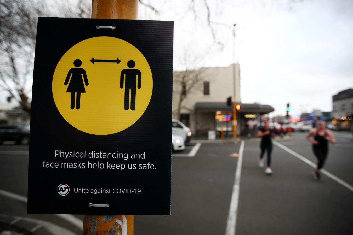 """Крупнейший город Новой Зеландии закрыли на карантин из-за одного заболевшего """"ковидом"""""""