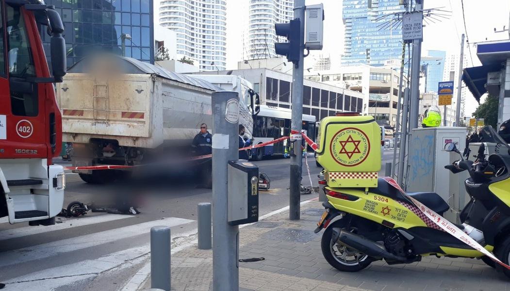 Грузовики против двухколесного транспорта: две смерти за день в Израиле