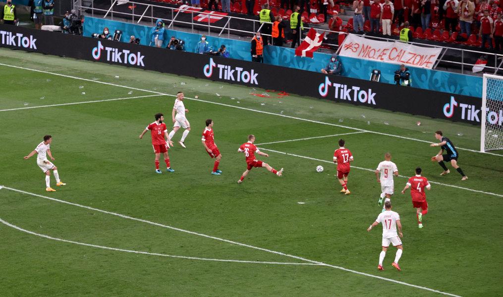 Россия проиграла Дании с разгромным счетом и выбыла из чемпионата Европы