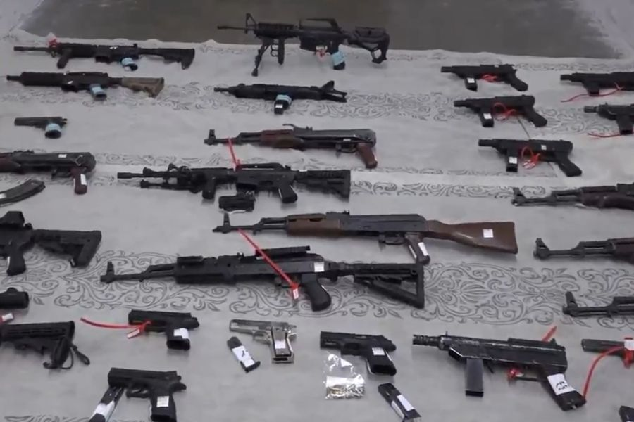 В Иудее и Самарии раскрыта преступная сеть торговцев оружием из Палестинской автономии