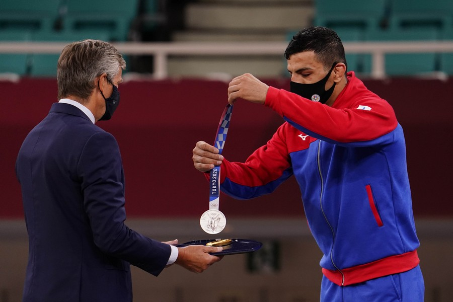 Нам и не снилось: выступающий за Монголию иранец посвятил олимпийскую медаль Израилю. ФОТО