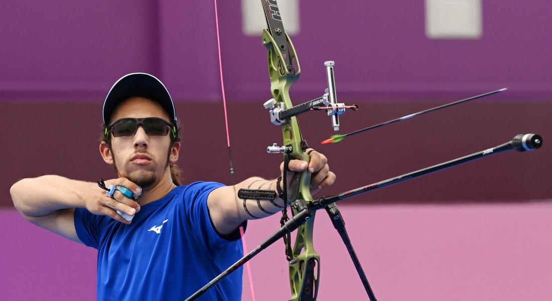 Олимпиада-2020: первый израильский лучник-олимпиец проиграл решающую дуэль тайваньцу