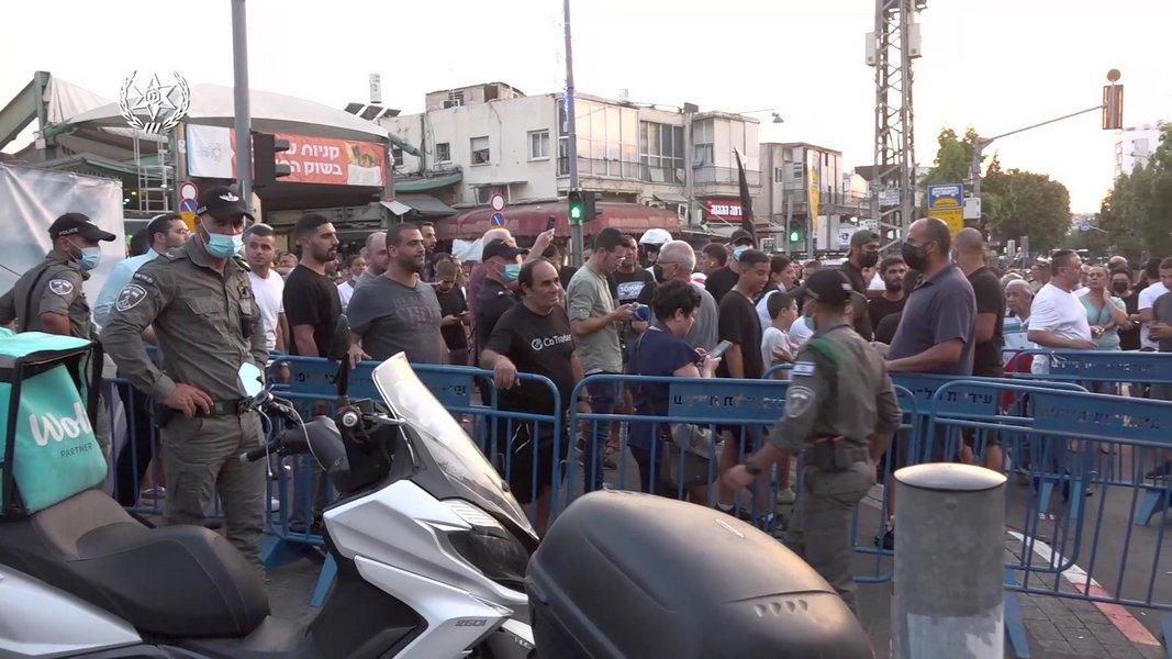 Бурная демонстрация в Тель-Авиве против сексуально озабоченных нелегалов