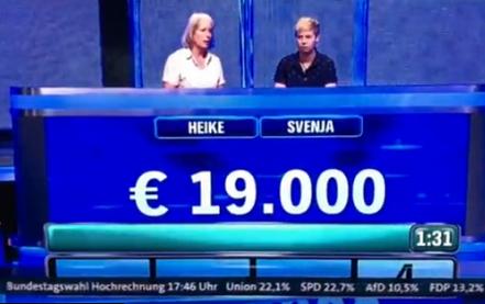 """Немецкий телеканал знает то, что неведомо другим: в эфире появились """"итоги"""" выборов в бундестаг"""