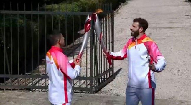 В Греции зажгли огонь зимней Олимпиады 2022. Видео