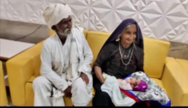 В Индии 70-летняя женщина родила своего первого ребенка