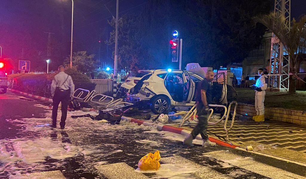 Взрыв автомобиля в Нагарии: покушение на родственника криминального авторитета