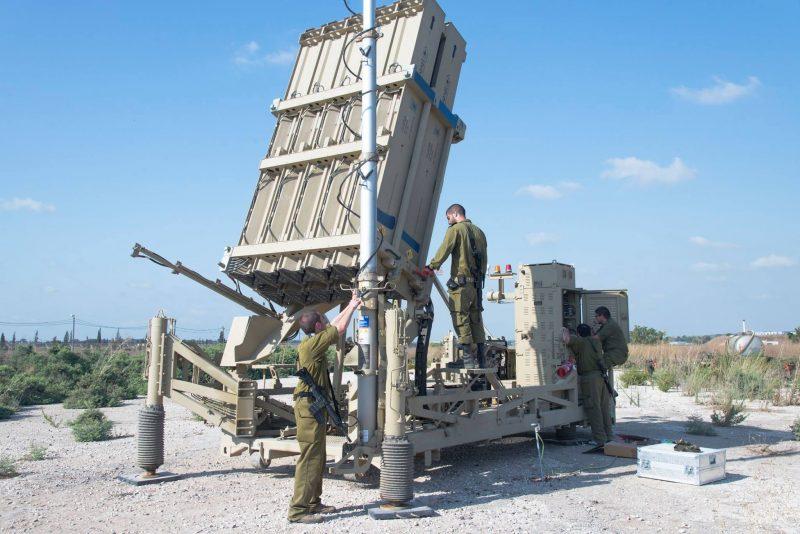 Армия успела подготовиться к ракетным обстрелам
