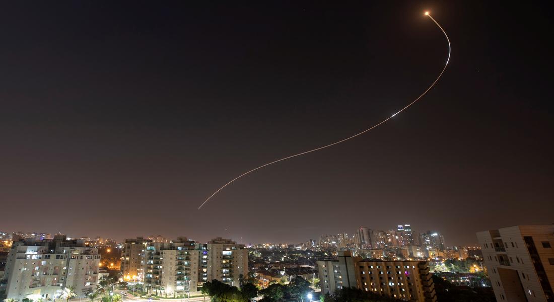 Второй за сутки ракетный обстрел Израиля со стороны Газы