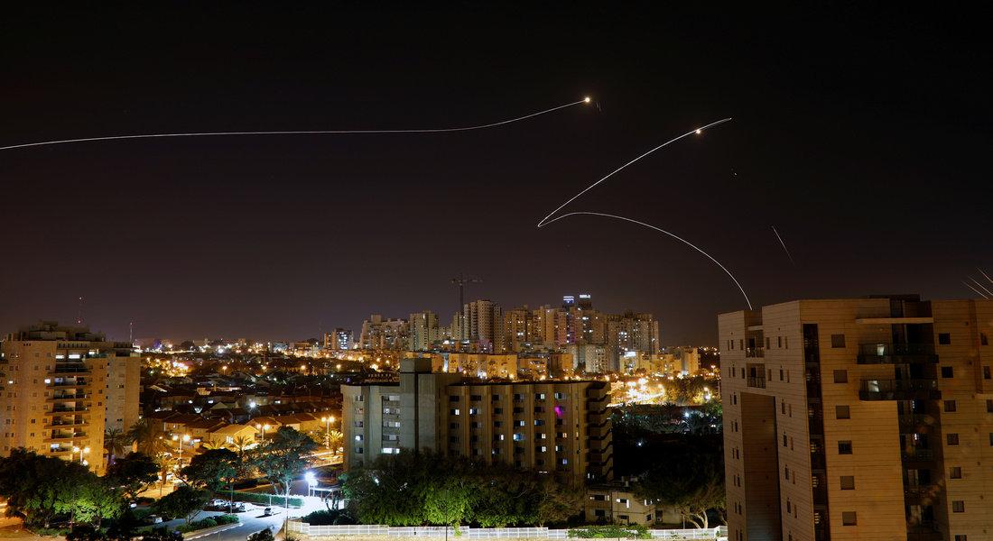 У побережья Ашдода разорвались две ракеты из Газы